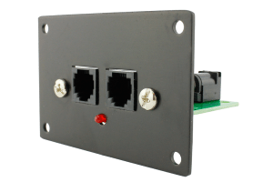NCE Connection Panel for PowerCab (RJ12 Type)