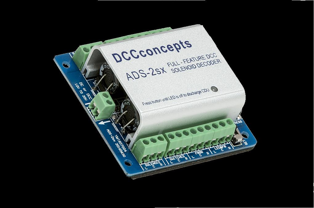 DCCconcepts Turnout (Point) Control Decoders