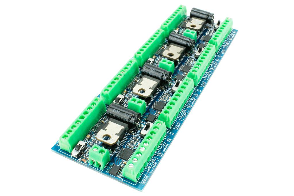Cobalt iP DCC Decoder FX Stall Motor Drive (8-way Output)