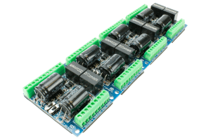 Universal DCC Decoder CDU Solenoid Drive (8-way, Added Features)