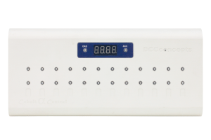 Cobalt Alpha Central integrated 12-way digital switch
