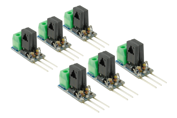 Dcc Decoder Converter 3 Wire To 2 Wire  6 Pack