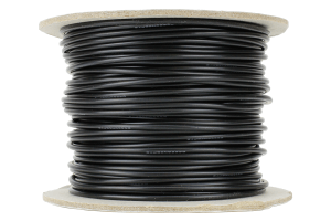 Power Bus Wire 50m of 1.5mm (15g) Black
