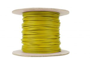 Dropper Wire 50m 26x 0.15 (17g) Yellow