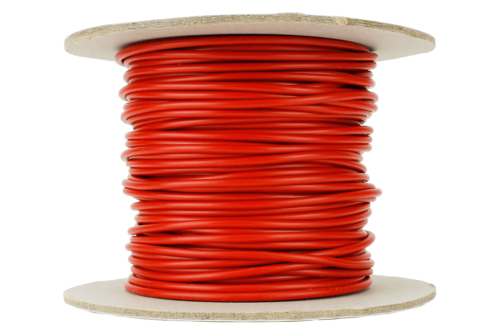 Power Bus Wire 25m of 1.5mm (15g) Red