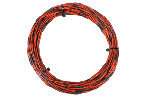 Twisted Bus Wire 25m 26x 0.15 (17g) Twin Red/Black