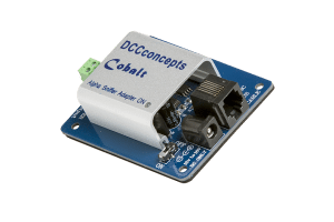 Cobalt Alpha DCC Power Bus Driver and SNIFFER Adapter