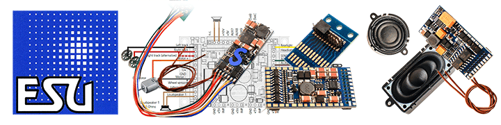 ESU Sound & Loco Drive Decoders & Accessories