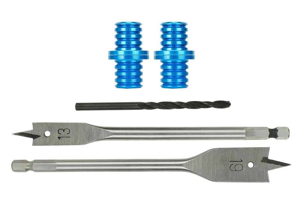 Baseboard Dowels (w/Spade Drill Bits) (2 Pack)