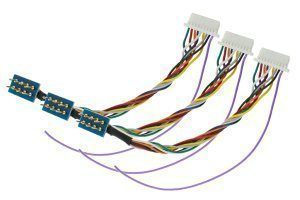 NEM652 8 Pin to JST Harness (For ZN218 Decoders) (3 Pack)