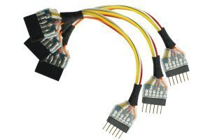 NEM651 6 Pin Plug to 6 Pin Socket Harness (3 Pack)
