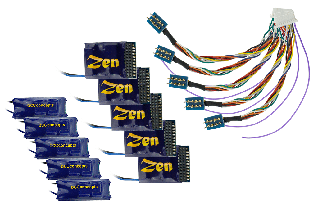 Zen 218 21 and 8 Pin 4 Function w/Stay Alive (5 Pack)