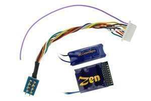 ZEN 218 21 & 8 Pin 4 Function Decoder w/Stay Alive.
