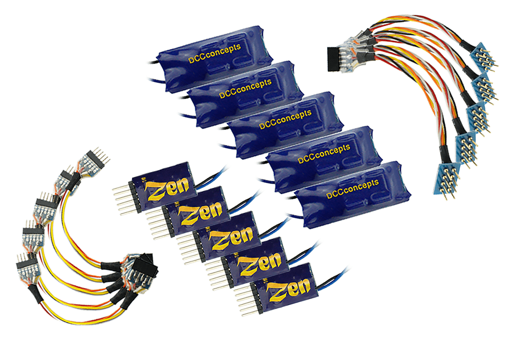 Zen 6 Pin Versatile 2 Function w/Stay Alive (5 Pack)