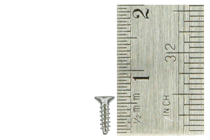 Countersunk Screws 1 x 5mm (60 Pieces)