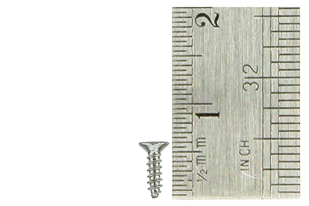 Countersunk Screws 1 x 5mm (60 Pieces)