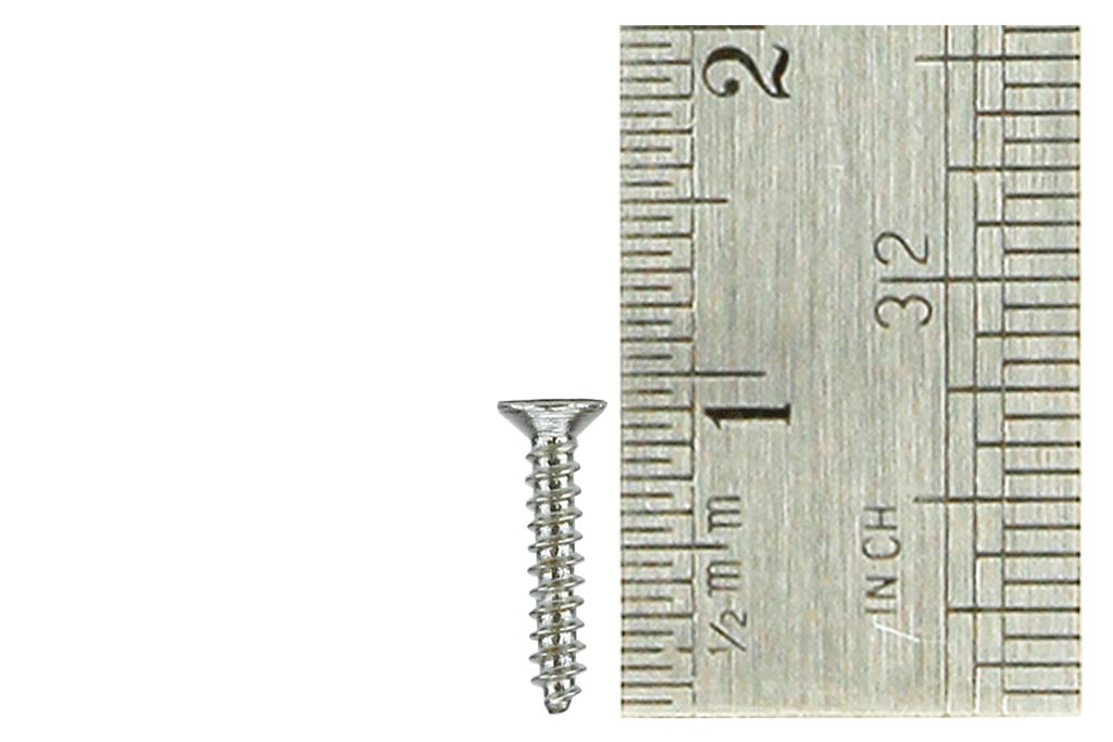 Countersunk Screws 1 x 8mm (60 Pieces)