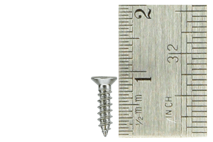 Countersunk Screws 2 x 8mm (60 Pieces)