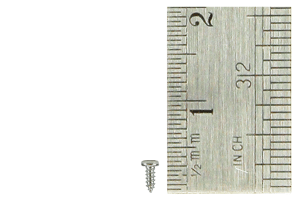 Pan Head Screws 1 x 3mm (60 Pieces)