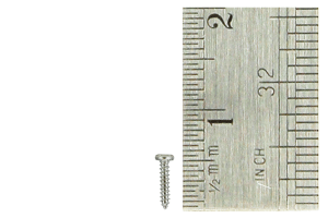 Pan Head Screws 1 x 5mm (60 Pieces)