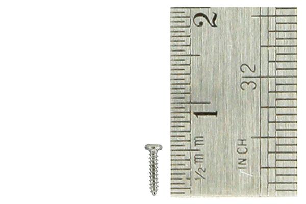 Pan Head Screws 1 x 5mm (60 Pieces)