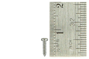 Pan Head Screws 1.5 x 6mm (60 Pieces)