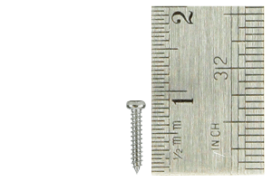 Pan Head Screws 1.5 x 8mm (60 Pieces)