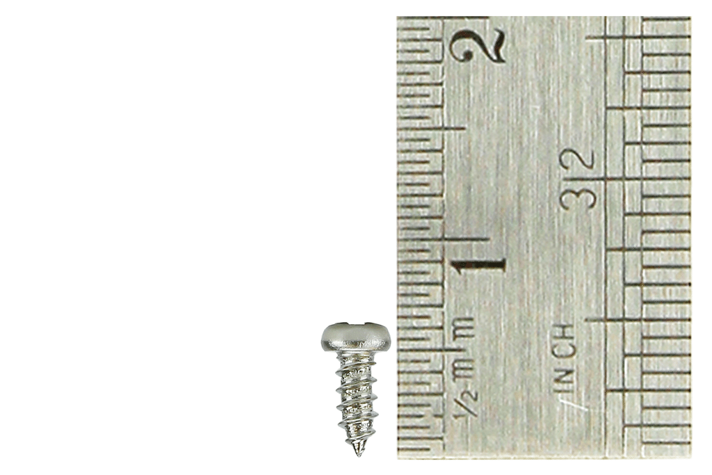 Pan Head Screws 2 x 6mm (60 Pieces)