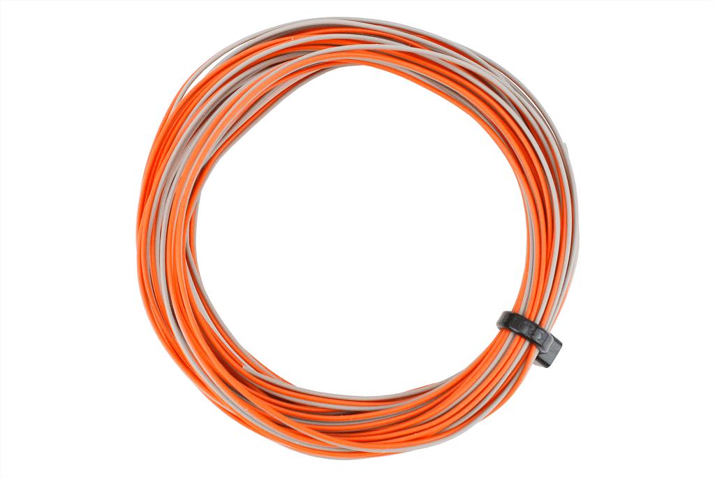TWIN Wire Decoder Stranded 6m (32g) Orange/Grey