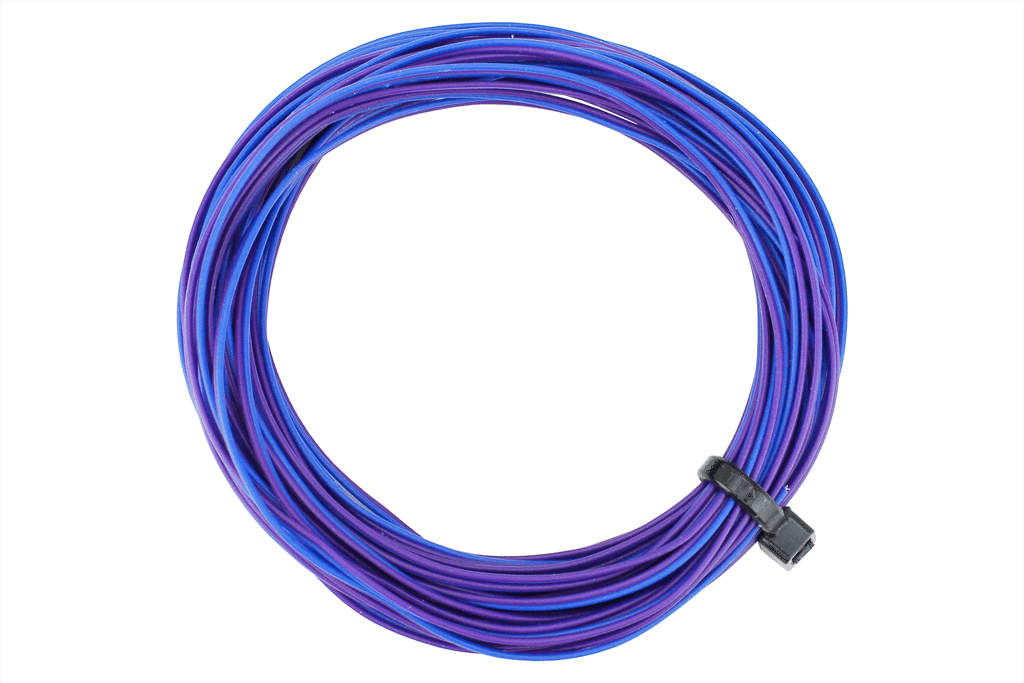 TWIN Wire Decoder Stranded 6m (32g) Purple/Blue