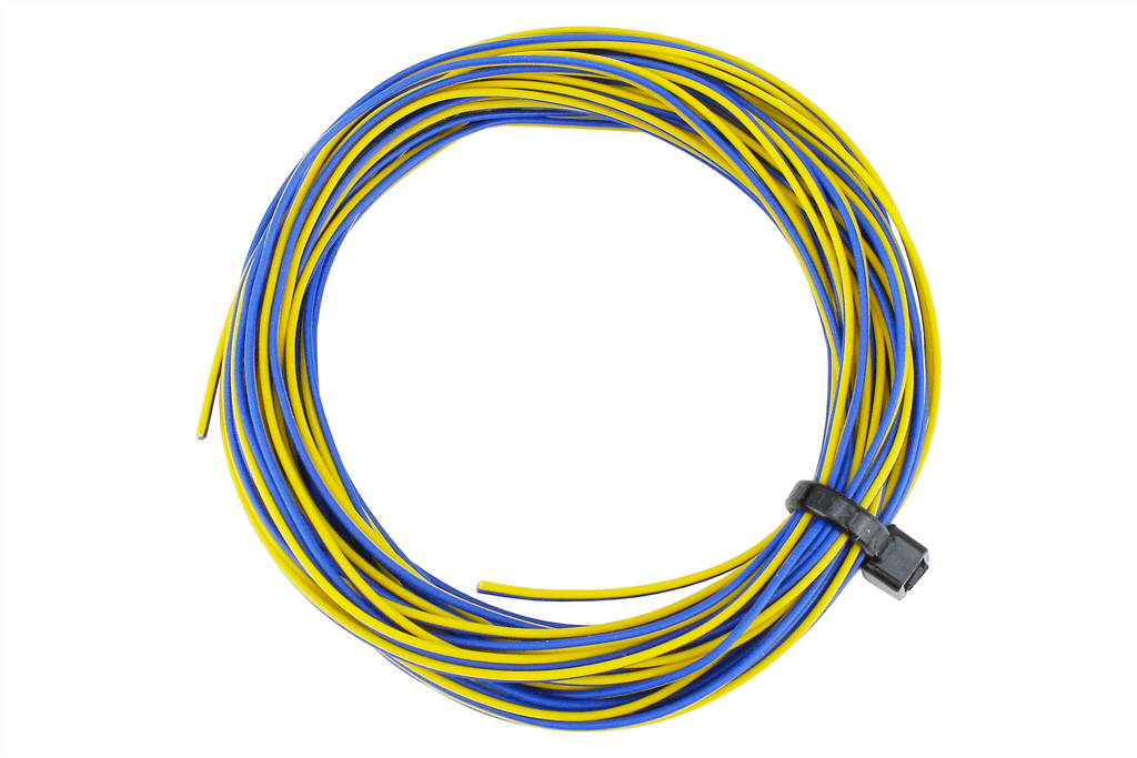 TWINWire Decoder Stranded 6m (32g) Yellow/Blue.