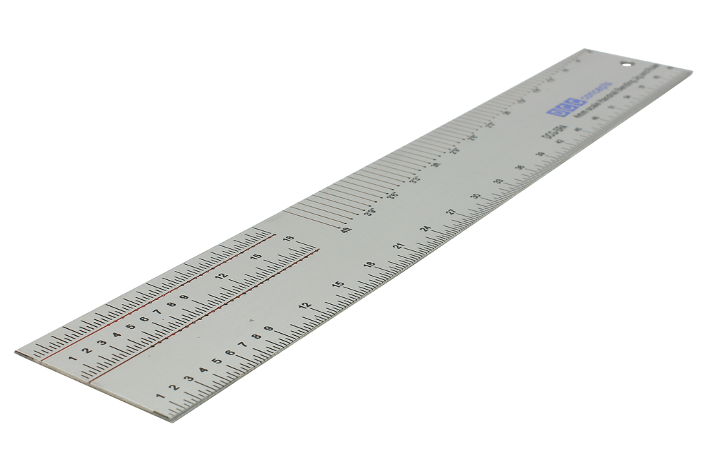 Stainless Steel Scale Ruler & Handrail Jig