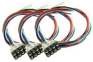Decoder Harness 8 Pin Female (300mm) (3 Pack)
