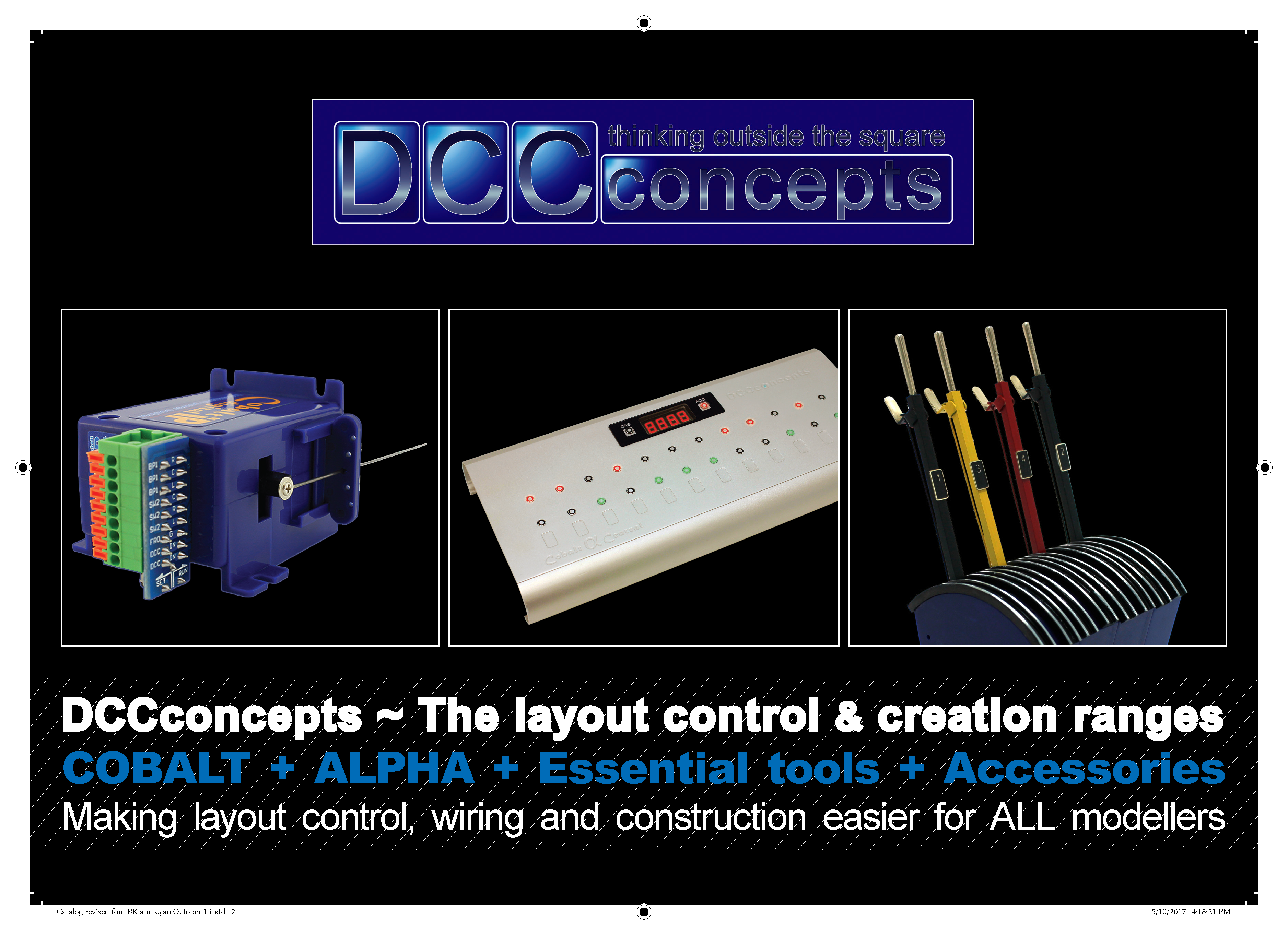 DCCconcepts Layout Control Catalog