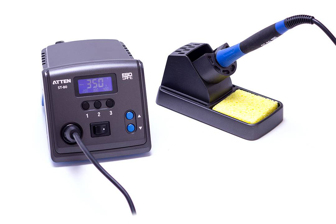 80 Watt Soldering Station with Digital Temperature Control